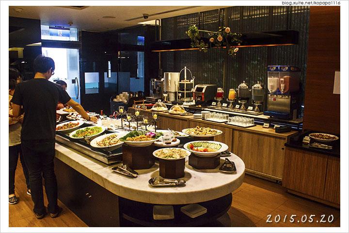 [花蓮市區] 藍天麗池飯店-綠波廊西餐廳 | 輕食自助式午餐