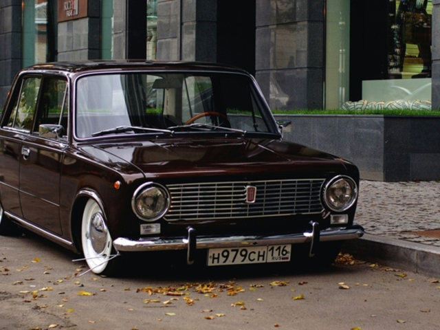Wallpaper is no longer dated or stuffy. Retro Car Vaz 2101 Wallpaper For Android 640x480