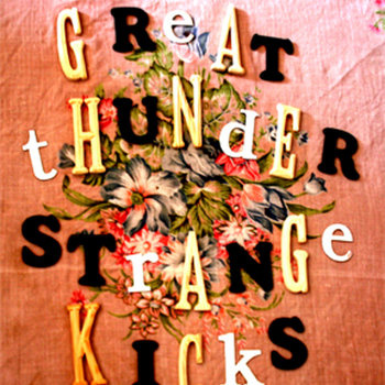 Strange Kicks ep cover art