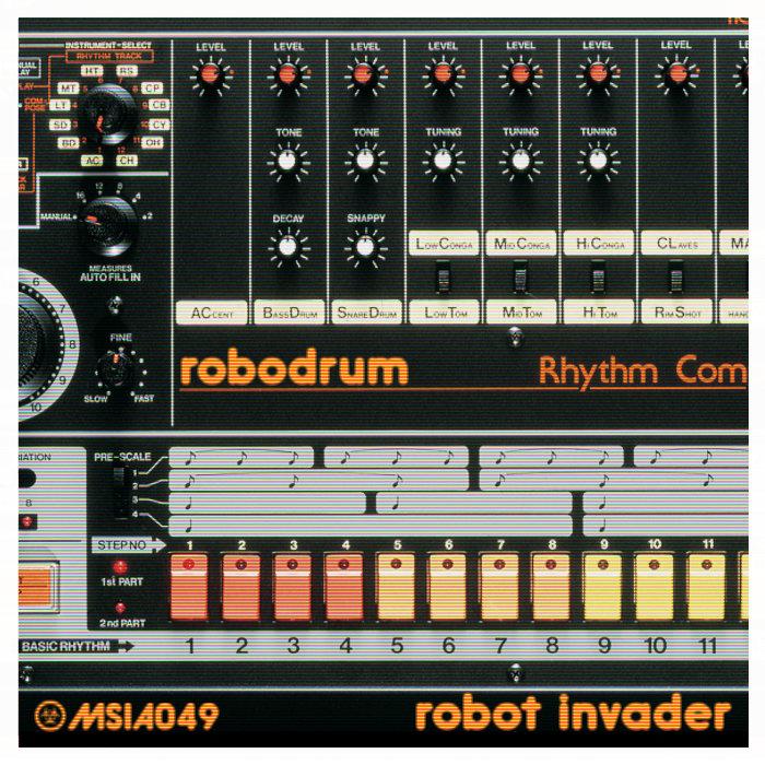 robodrum robot invader militant science