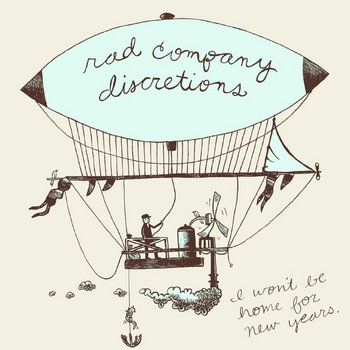 "Rad Company/Discretions ""I Won't Be Home For New Years"" cover art"