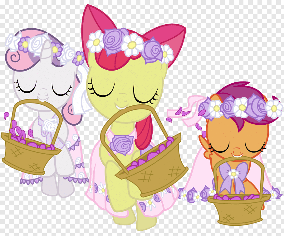 Applejack Pony Apple Bloom Cutie Mark Crusaders Filly Creative Wedding Dress Free Png Pngfuel