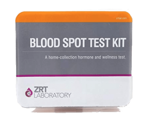 Blood spot test kit