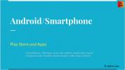 Play Store und Apps