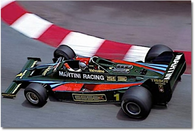 Andretti at Monaco 1979