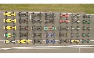 35 Lotus F1 cars