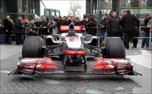 McLaren MP4/27 in Berlin