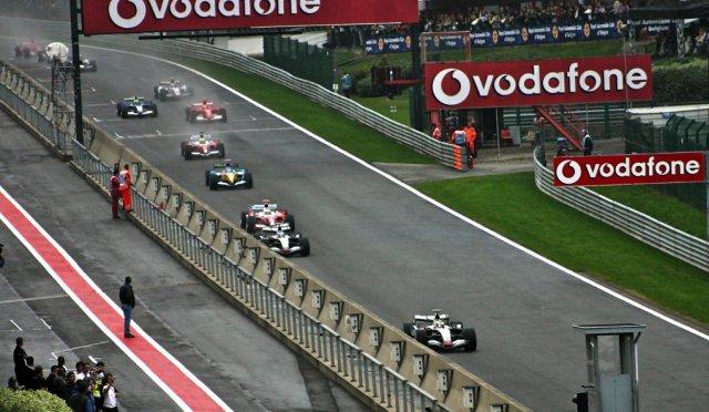 Spa 2005 start