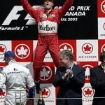 Schumacher—Canada 2003