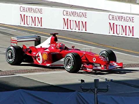 Schumacher—Indy 2003