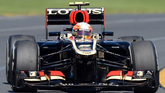 Grosjean In FP3