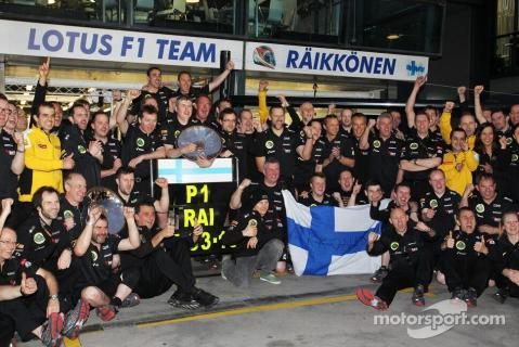 Congrats to Kimi