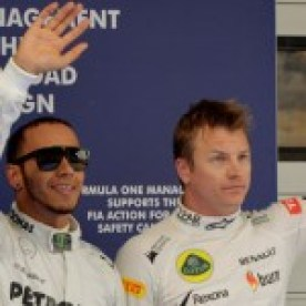 Lewis and Kimi