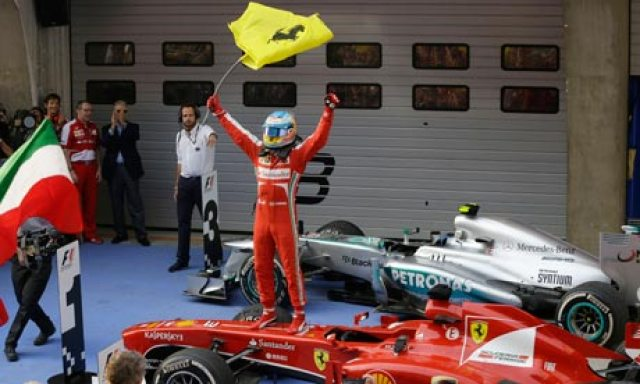 Alonso—China 2013
