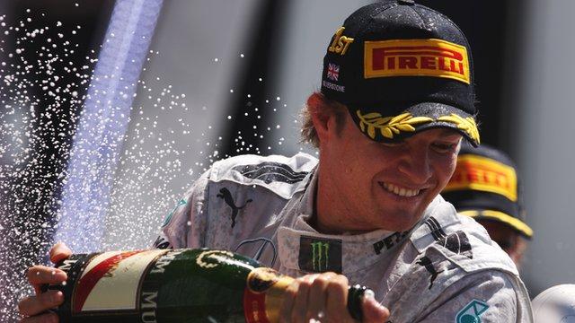 Rosberg—Silverstone 2013