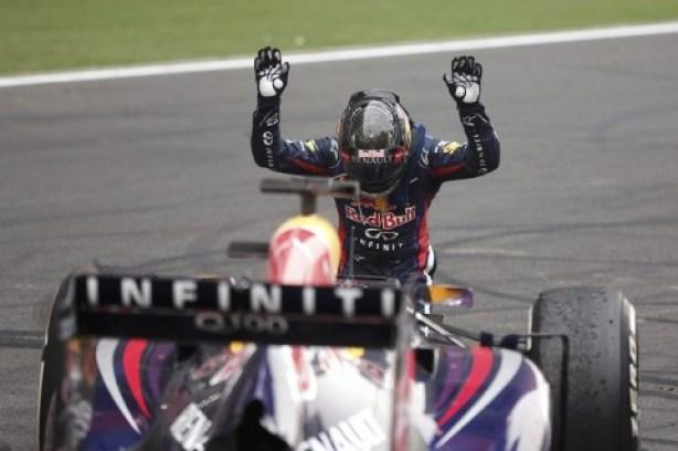 Vettel—Buddh 2013