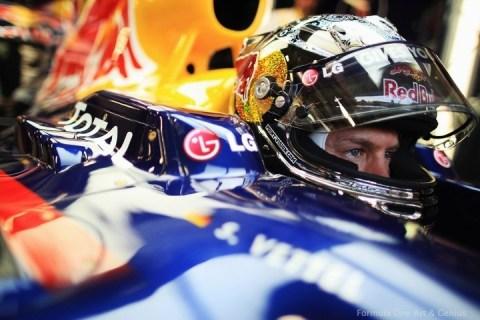 Vettel—Concentration