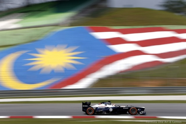 Maldonado—Malaysia 2013 qualifying