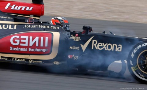 Raikkonen—Germany 2013 qualifying