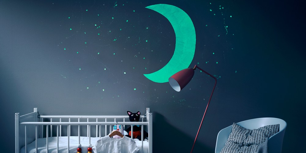 Dekorasi DInding Kamar Glow in the Dark
