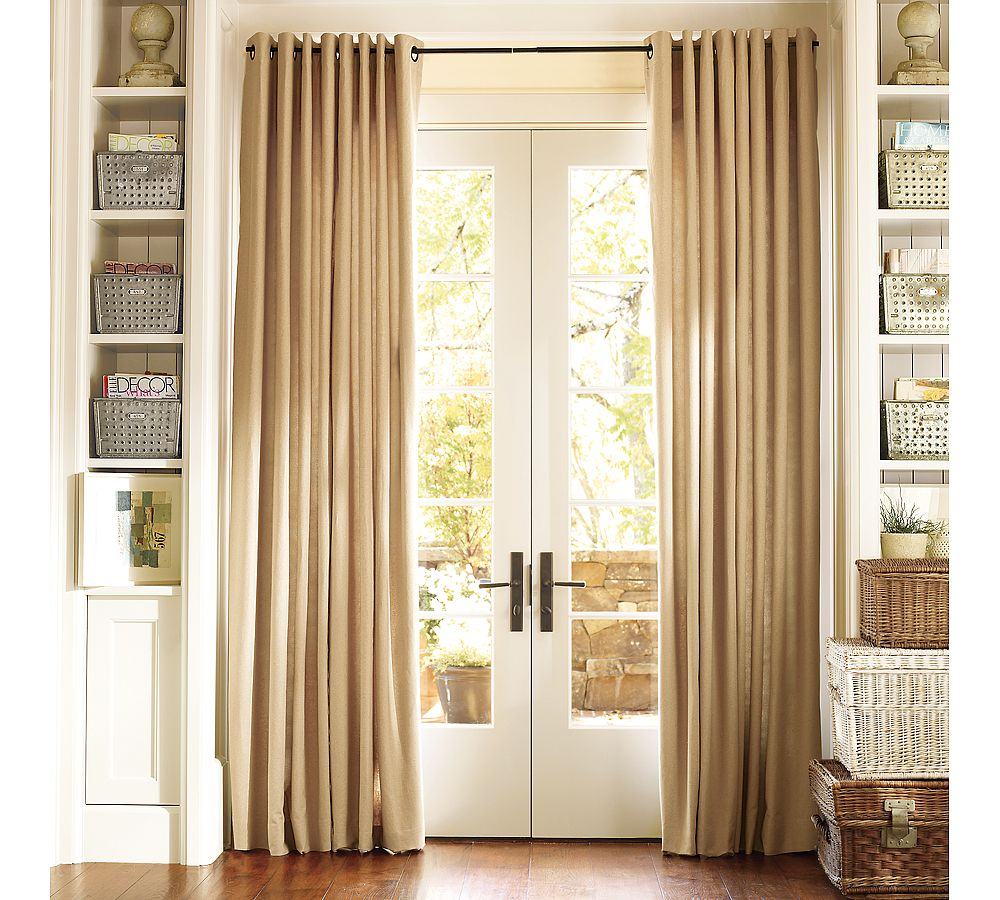Position of Door Curtains