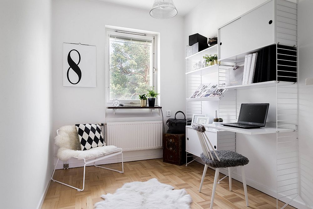 Scandinavian-home-office-in-white-is-a-classic-that-never-dissapoints
