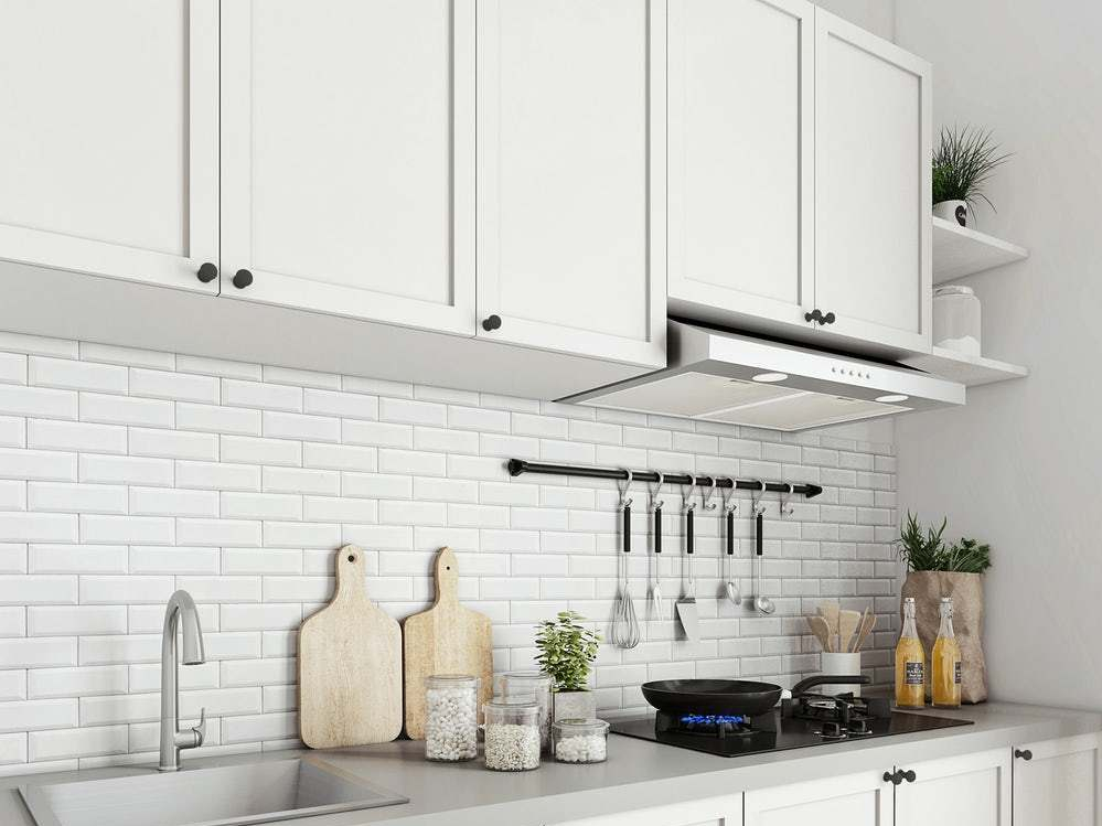 Bahan Kitchen Set Kabinet Putih