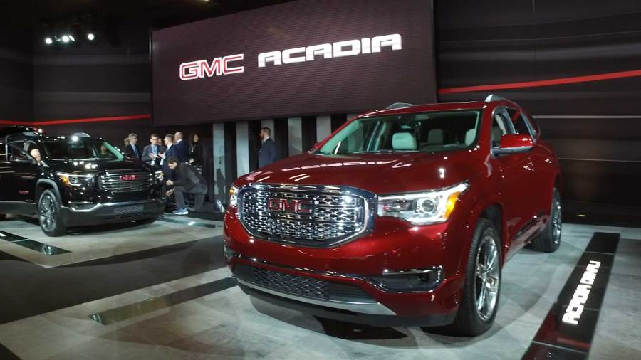 NY Auto Show  2013 American SUVs GMC Acadia Shrinks To Match Rivals