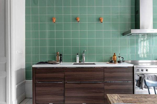 ФОТО Необычная кухня в интерьере шведской квартиры - Ваш ...