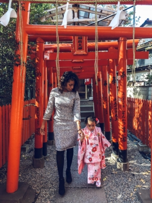 'There are mothers who see themselves as moms first, and that's awesome, but I've always wanted to be more than just a mom,' Teri Wada says.   COURTESY OF TENI WADA