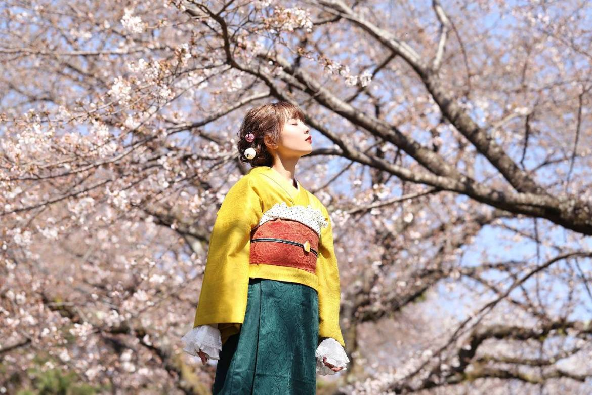 Blossom forth: Hikari's cover of the Vocaloid staple 'Yume to Hazakura' earned more than a million views on YouTube.   ©︎ SINGING COSPLAYER HIKARI
