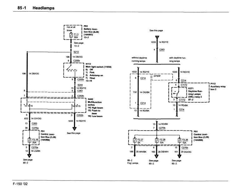 Headlight Wiring Diagram?