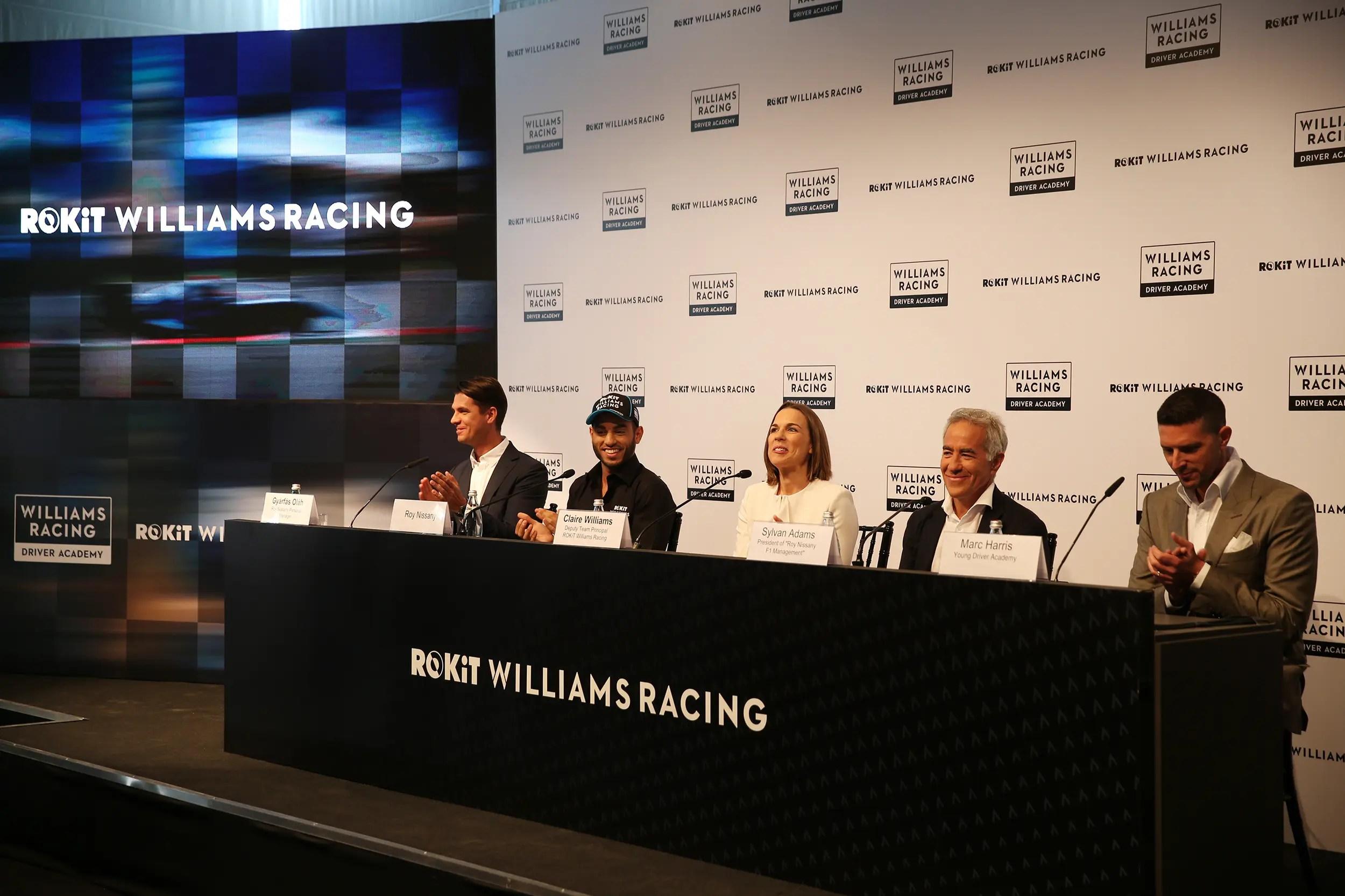 Officiel : Williams recrute l'Israélien Roy Nissany comme pilote de développement