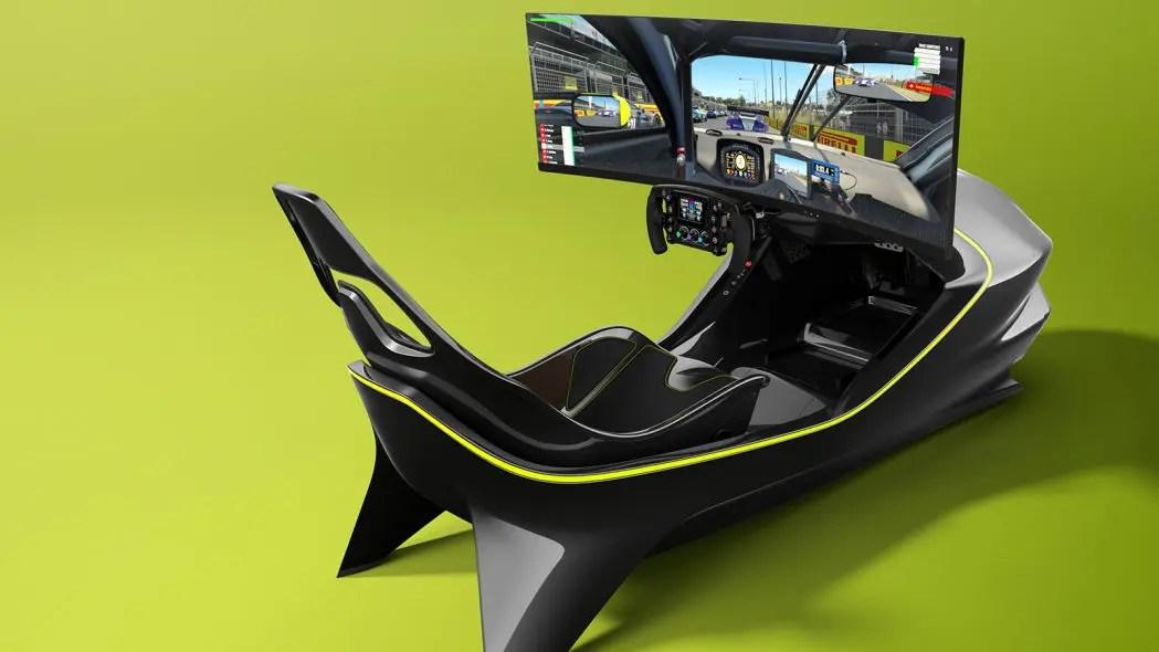 Le simulateur Aston Martin est disponible à la vente
