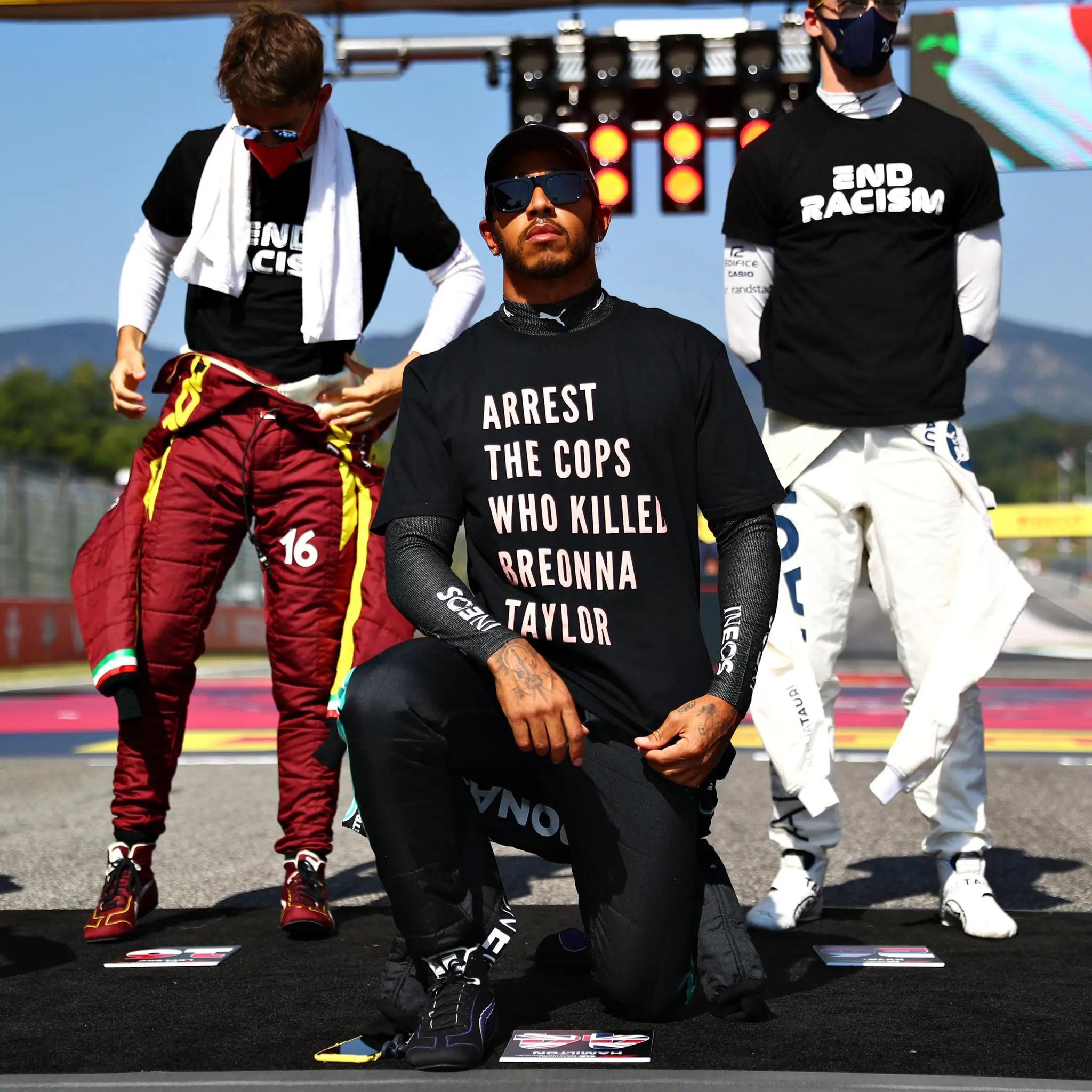 Hamilton annonce qu'il poursuivra son combat contre les injustices