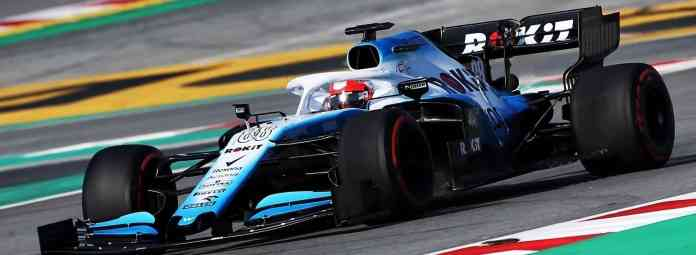 f1chronicle-Williams Testing