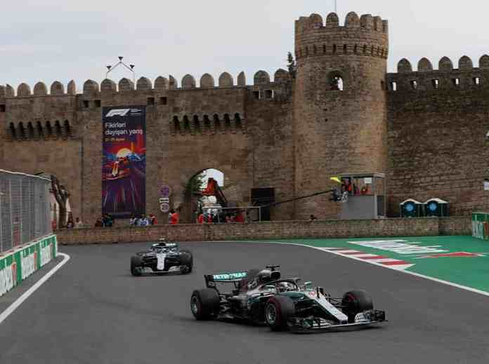 f1chronicle-2018 Azerbaijan Grand Prix - Mercedes AMG F1
