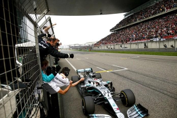 2019 Chinese Grand Prix, Sunday - Lewis Hamilton
