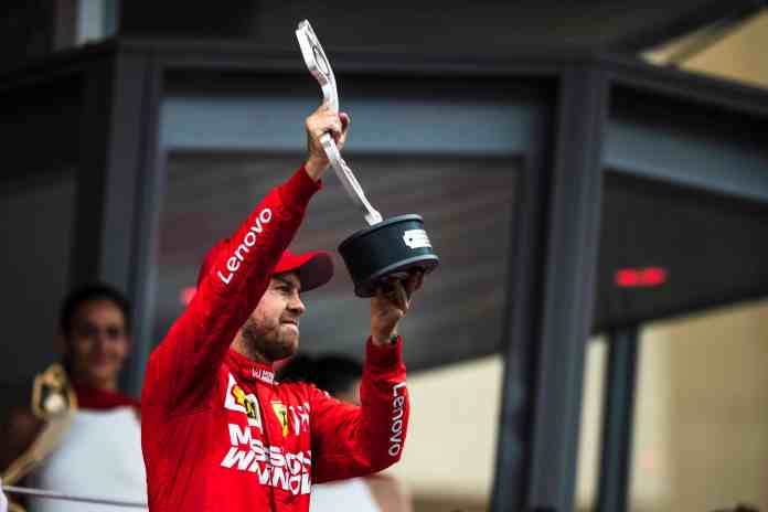 2019 Monaco Grand Prix, Sunday: Second place finisher Sebastian Vettel