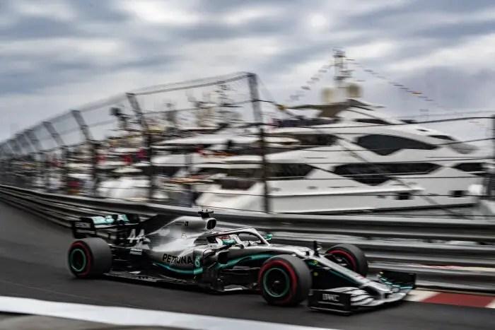 F1 2019 Monaco Grand Prix: Mercedes Set The Pace On Day 1