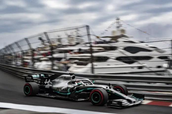 f1chronicle-2019 Monaco Grand Prix, Thursday: Lewis Hamilton