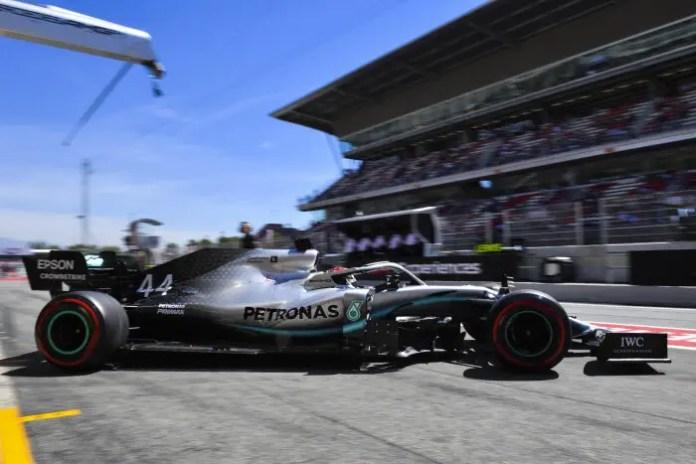 2019 Spanish Grand Prix, Friday - Lewis Hamilton