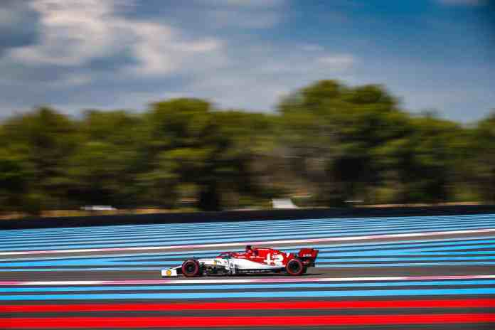 2019 French Grand Prix - Kimi Raikkonen (image courtesy Alfa Romeo Racing)
