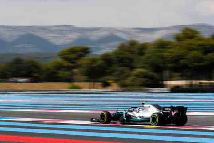 2019 French Grand Prix, Day 1 - Valtteri Bottas (image courtesy Mercedes AMG F1)