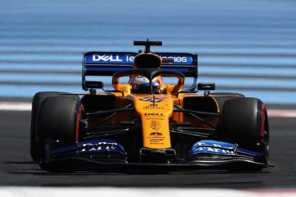2019 French Grand Prix, Saturday - Carlos Sainz (image courtesy McLaren)