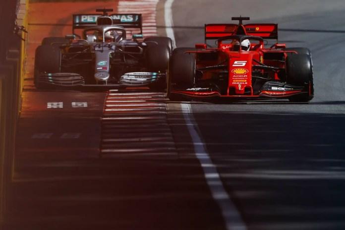 f1chronicle-2019 Canadian Grand Prix, Sunday - Sebastian Vettel and Lewis Hamilton