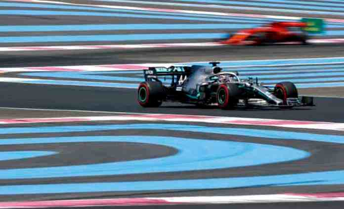 2019 French Grand Prix, Saturday - Lewis Hamilton (Image courtesy Mercedes AMG F1)