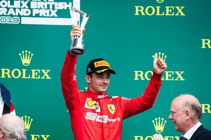 2019 British Grand Prix, Sunday - Charles Leclerc (image courtesy Ferrari Media Centre)