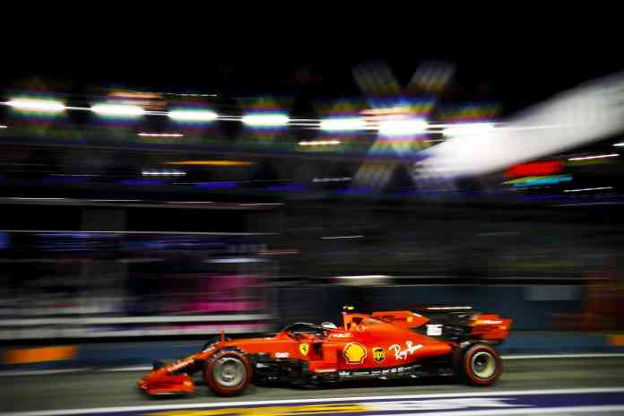 SINGAPORE STREET CIRCUIT, SINGAPORE - SEPTEMBER 21: Charles Leclerc, Ferrari SF90 during the Singapore GP at Singapore Street Circuit on September 21, 2019 in Singapore Street Circuit, Singapore. (Photo by Glenn Dunbar / LAT Images)