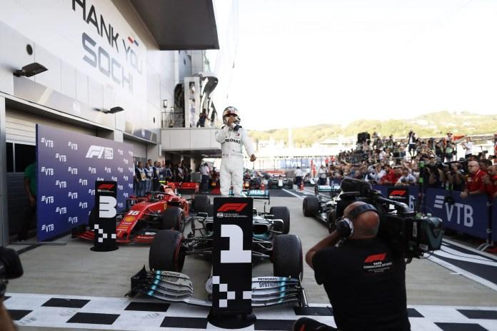 f1chronicle-2019 Russian Grand Prix, Sunday - Lewis Hamilton